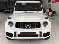 Bán Mercedes G63 AMG màu trắng, nội thất đỏ, sản xuất 2021, mới 100%, xe giao ngay