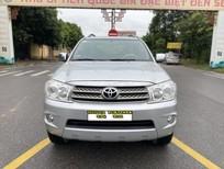 Cần bán gấp Toyota Fortuner 2.5G 2011, màu bạc