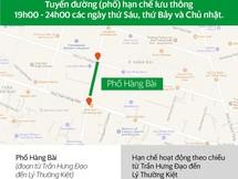 Các tuyến đường Hà Nội và khung giờ hạn chế xe hợp đồng dưới 9 chỗ lưu thông