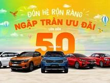 Kia Việt Nam tung ưu đãi mùa hè lên đến 50 triệu đồng