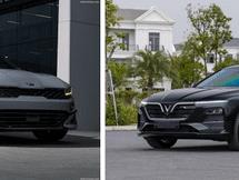 Đặt bàn cân trang bị 2 mẫu ô tô mới trong phân khúc xe 1 tỷ: KIA K5 2.5 GT-Line và VinFast Lux A2.0 Cao cấp