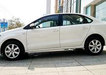Bán Volkswagen Polo Saloon E sản xuất 2015, màu trắng, nhập khẩu nguyên chiếc