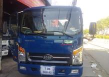 Bán xe tải Veam 1.99 tấn Vt260 thùng dài 6.2 mét vào thành phố