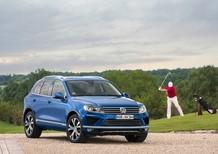 Bán ô tô Volkswagen Touareg E đời 2016, màu xanh lam, nhập khẩu