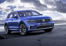Cần bán Volkswagen Tiguan E năm 2016, màu xanh lam, nhập khẩu