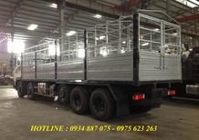 Bán xe tải Dongfeng Trường Giang 5 chân 22 tấn, thùng dài 9.5 mét