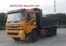 Bán xe ben Dongfeng 3 chân tải trọng 14.1 tấn giá rẻ nhất Sài Gòn