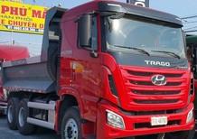 Đại lý bán xe ben tự đổ Hyundai Xcient, 3 chân 13 tấn 10 khối, nơi bán xe tải tự đổ Hyundai