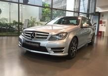 Cần bán lại xe Mercedes C300 AMG Plus đời 2014, màu bạc