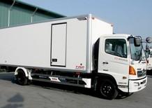 Bán xe tải Hino 3,8 tấn, 4,5 tấn, 5 tấn công suất 150Ps, tiêu chuẩn Euro 3 thùng bạt, thùng kín..