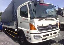 Xe tải Hino 9.4 tấn thùng mui bạt tiêu chẩn, giao xe ngay. Giá xe tải Hino 9.4 tấn tốt nhất