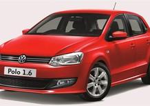 Bán Volkswagen Polo E đời 2015, màu đỏ, xe nhập
