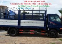 Bán xe Hyundai nâng tải 5 tấn HD500, xe Hyundai HD650 nâng tải 6,5 tấn mới vay trả góp