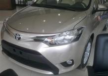 Toyota Vios 1.5E MT 2018, màu nâu, bạc, đen, giá tốt, hỗ trợ TG