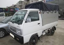 Xe tải Suzuki 5 tạ thùng lửng, thùng phủ bạt, thùng kín, xe giao ngay