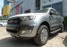 Cần bán xe Ford Ranger Wildtrak 3.2 AT 4x4 2018, màu bạc, nhập khẩu