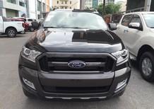 Bán Ford Ranger Wildtrak 3.2 AT 4x4 2018, màu đen, nhập khẩu giá cạnh tranh