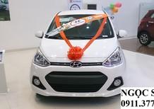 Bán xe Hyundai i10 Đà Nẵng, màu trắng, trả góp 90%xe,LH Ngọc Sơn: 0911.377.773
