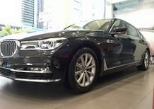 Bán BMW 7 Series 730 Li 2016 2017, màu đen, nhập khẩu, giá rẻ nhất, chính hãng, giao ngay