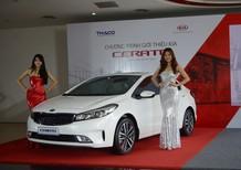 Bán xe Kia K3 1.6 MT sản xuất 2018, màu trắng, giá chỉ 530 triệu