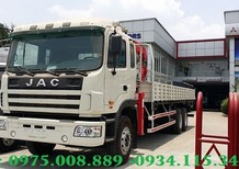 Xe tải JAC 3 chân 12 tấn 11 tấn gắng cẩu unic 5 tấn 3 khúc xe mới trả góp