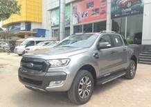 Ford Ranger 3.2 Wildtrak mới tại Vĩnh Phúc, màu bạc, nhập khẩu, giá bán thương lượng