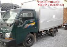 Bán xe tải Thaco K190 tải trọng 1 tấn 9 thùng kín, chạy thành phố được