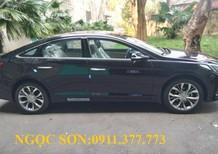 Bán xe Hyundai Sonata đời 2017, màu đen, xe nhập