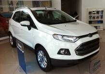 Bán ô tô Ford EcoSport Titatium đời 2017, mầu trắng, LH 0933523838