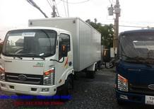 Bán xe tải veam vào thành phố, xe tải vào thành phố thùng dài 6.1 mét/6m1, xe tải Veam VT260 trọng tải 1T99 giá tốt nhất
