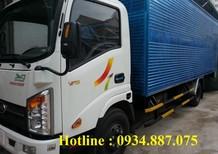 Bán xe tải Veam VT340S 3.5 tấn (3T5) thùng dài 6.2 mét - Veam VT340S 3.49 tấn (3T49) thùng dài 6.2m