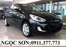 Bán ô tô Hyundai Accent mới 2017, màu đen, nhập khẩu chính hãng, 532tr