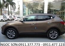 Cần bán Hyundai Santa Fe mới 2018, màu nâu, nhập khẩu nguyên chiếc