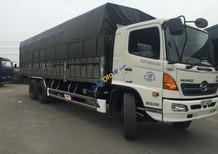 Bán trả góp xe tải Hino FL 3 chân 16 tấn bửng nhôm thùng dài 7,8m/9.3m