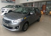 Mitsubishi Attrage CVT 2017, màu xám, xe nhập, khuyến mại lớn trong tháng