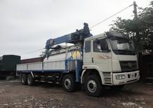 Xe tải FAW gắn cẩu Dongyang 8 tấn, hàng giao ngay