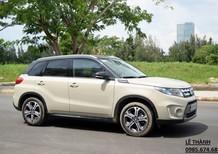 Đại lý bán xe Suzuki Vitara 2017 trắng ngà giá ưu đãi kèm nhiều khuyến mãi lớn