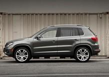 Dòng xe gầm cao SUV Volkswagen Tiguan 2016, màu xám, nhập khẩu nguyên chiếc Đức