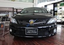 Bán Toyota Corolla Altis 2.0V màu đen đời 2017, bản 2.0V còn 903tr, tặng phụ kiện chính hãng, LH Huy 0978329189