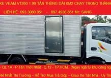 Cần bán xe Veam VT260 đời 2016, nhập khẩu nguyên chiếc