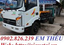 Bán xe tải Veam 1T9/ 1.9 tấn/ Veam VT200 thùng bạt giao ngay tại Thủ Đức