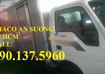 TP. HCM, bán xe tải Kia 1T4, thùng kín inox 430, cửa hông