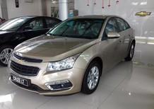Cruze 1.6 LT số sàn 2017 màu vàng cực đẹp | Chevrolet Nam Thái - khuyến mãi 53tr
