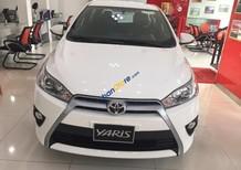Cần bán Toyota Yaris 1.5G màu trắng, nhập khẩu nguyên chiếc