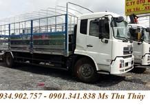 Thông tin giá xe tải Dongfeng Hoàng Huy B170 9.6 tấn/ 9,6 tấn thùng bạt Inox chính hãng