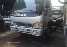 Xe tải JAC 6.4 tấn thùng mui bạt có, xe tải JAC 6T4 hỗ trợ trả góp, JAC 6T5 có máy lạnh