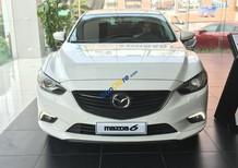 Mazda Hải Dương bán xe Mazda 6 chính hãng giá tốt, màu trắng, trả góp 80%, LH 0962 838 850