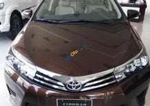 Bán xe Toyota Corolla Altis G đời 2017, màu nâu KM tặng bảo hiểm vật chất, 3 năm bảo dưỡng