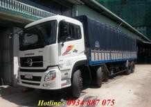 Bán xe tải dongfeng hoàng huy 4 chân (4 giò) 17.9 tấn/17,9 tấn/17t9 thùng dài 9.5m