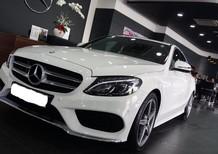 Bán xe Mercedes C300 2018, màu trắng giá cực ưu đãi, giao xe ngay